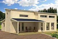 Дом деревянный из профилированного бруса 7.5х10. Скидка на домокомплекты на 2020 год