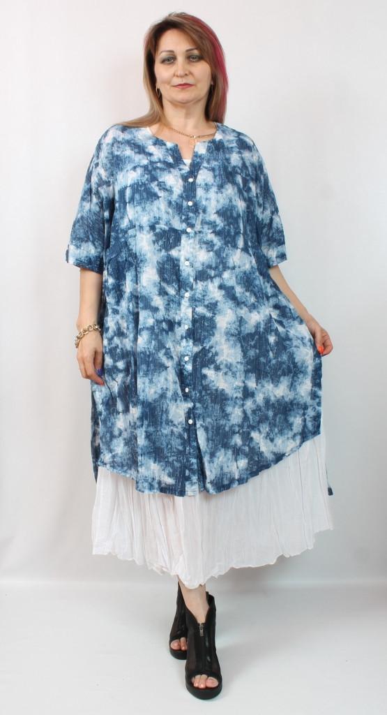 Турецкое женское  платье свободного кроя, 58-66