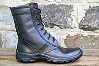 Взуття тактичне армійське, берци шкіряні на подошві піна ОС чорн піна