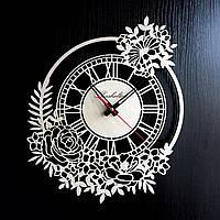 Настенные деревянные часы Shasheltoys Диаметр 35 см (090123)