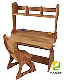 Комплект Парта, стул, надстройка, фото 2