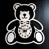 Настенные деревянные часы Shasheltoys Диаметр 35 см (090130)