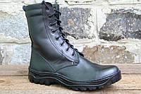 Взуття тактичне, армійські берци чорні з натуральної шкіри ОС ЧЕРН РЕЗ