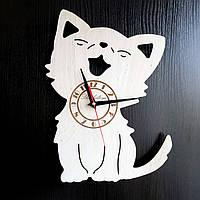 Настенные деревянные часы Shasheltoys Диаметр 35 см (090128)