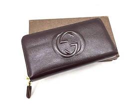 Женский кошелек Gucci (758406) brown