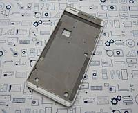 Рамка дисплея Lenovo S850 белый Сервисный оригинал с разборки