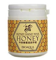 Парафиновая маска для рук с медом BioAqua Honey Hand Wax