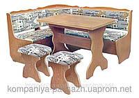 Кухонный уголок с простым столом Фараон