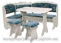 Кухонный уголок с простым столом Цезарь