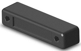 Буфер резиновый 245х53х60 мм