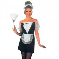Взрослый карнавальный костюм Горничная, Дорослий карнавальний костюм Покоївка, Карнавальные костюмы для взрослых