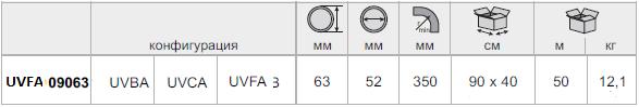 Гофра двустенная Kopoflex UVFA 09063