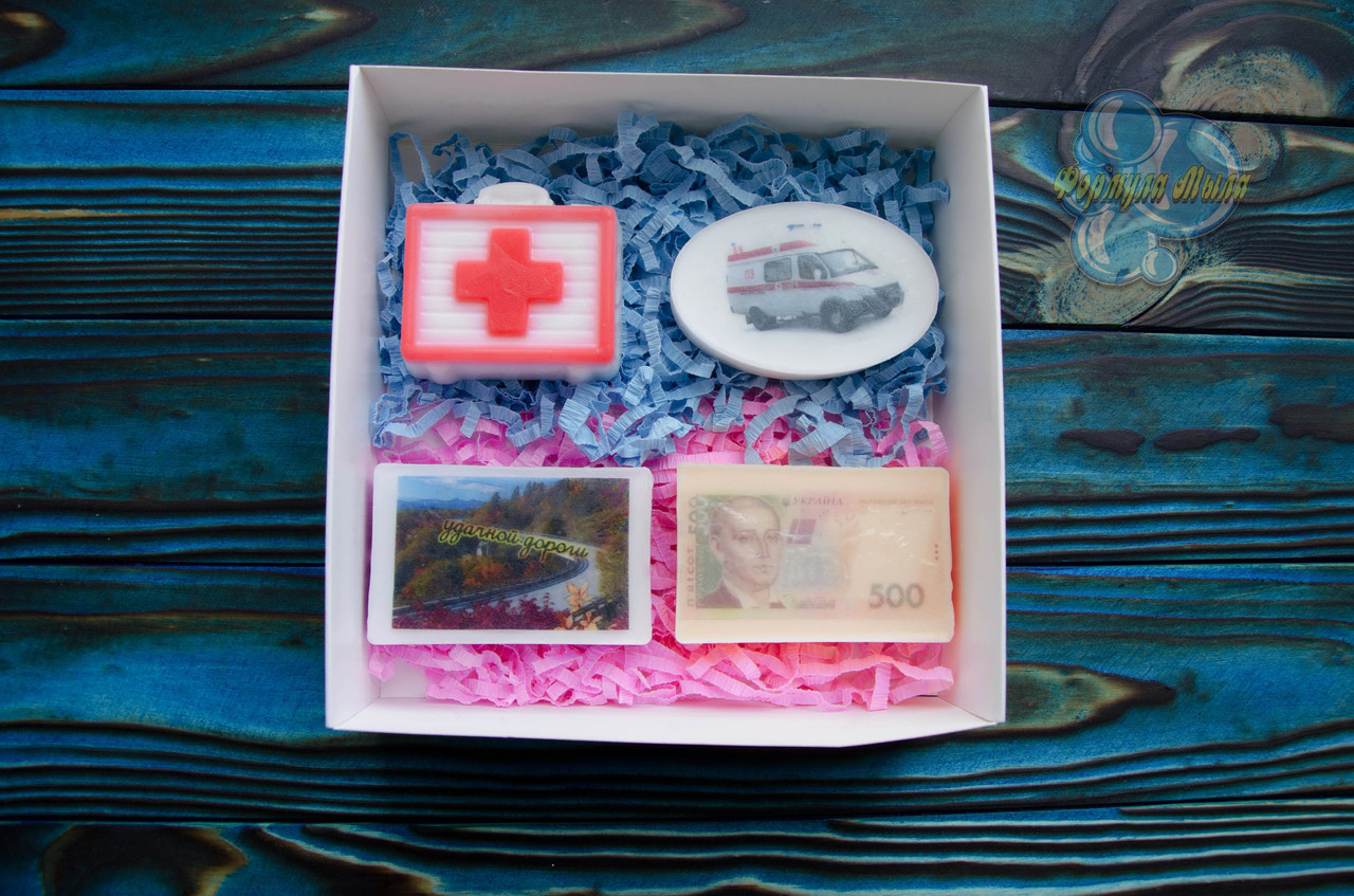 """Подарочный набор мыла """"Водителю скорой помощи"""""""