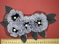 Цветы пришивные, фото 1