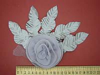 Цветок из шифона, фото 1