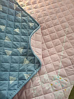 Одеяло-покрывало летнее Leleka-textile поликотон полуторное 140*205 см