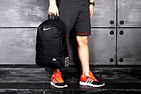 Рюкзак Nike Air молодежный стильный качественный, цвет черный, фото 1
