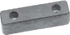 Буфер резиновый 200х52х60 мм, Польша