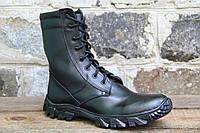 Взуття тактичне з натуральної шкіри, берци ОС ЧОРН ЕН