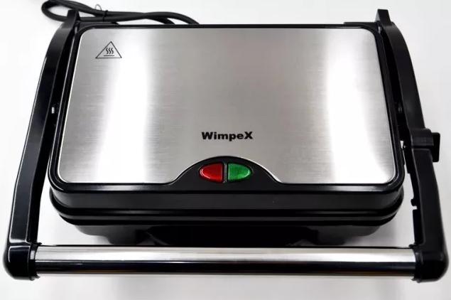 Гриль прижимной домашний Wimpex BBQ WX 1066   тостер   сэндвичница   электрогриль   бутербродница