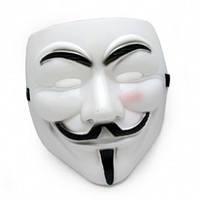 Маска пластик Гая Фокса, Маска пластик Гая Фокса, Карнавальные маски