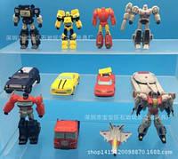 Фигурки роботы и машинки 12 штук