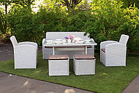 Мебель плетеная набор Флорес