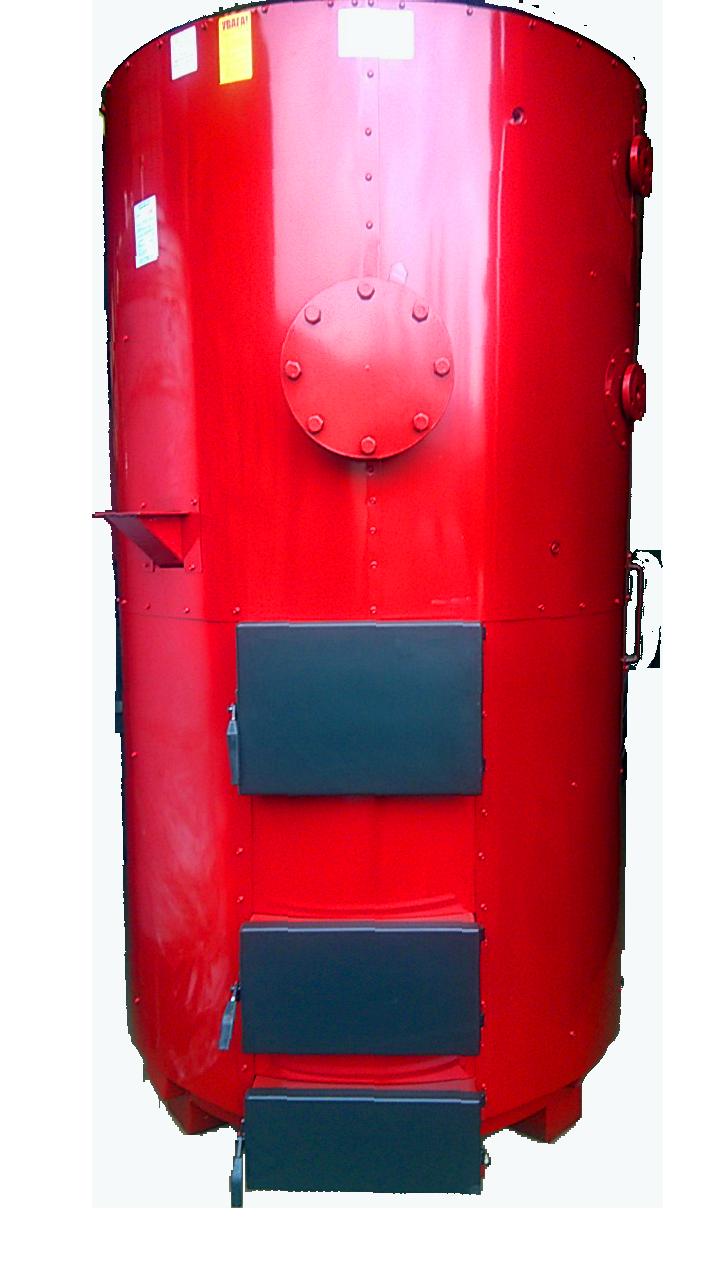 Парогенератор САН на твердому паливі потужністю 250/400 кВт/кг