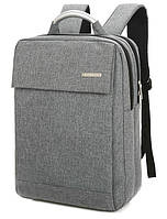 """Городской рюкзак для ноутбука 15.6"""" Digital Smith gray"""
