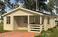 Дом деревянный из профилированного бруса 6х8. Скидка на домокомплекты на 2020 год