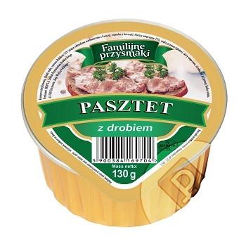 Паштет мясной Familijne przysmaki Польша 130 г