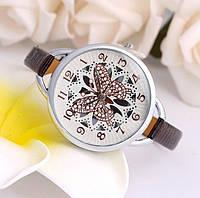 Наручные часы с бабочкой Fly brown