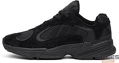 Мужские кроссовки Adidas Yung-1 Triple Black G27026, Адидас Янг 1