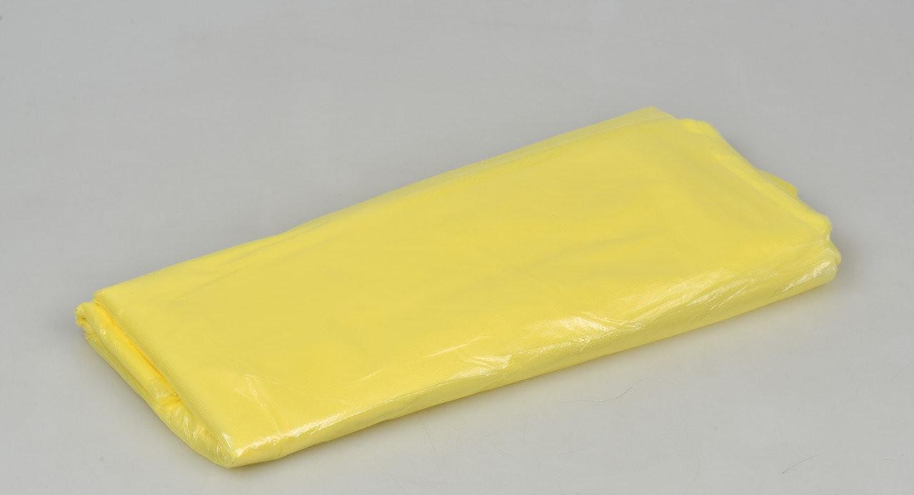 Чохол одноразовий на ванночку для педикюру Panni Mlada 50*70см (50 шт в упаковці) Жовтий