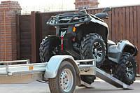 Прицеп для перевозки квадроцикла, багги. Лафеты для транспортировки снегохода