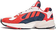 Женские кроссовки Adidas Yung-1 - Chalk White/Collegiate Navy B37615, Адидас Янг 1