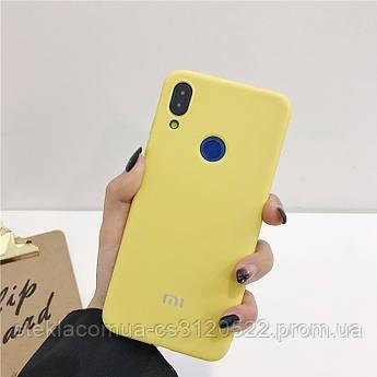 Силиконовый Чехол для Xiaomi Redmi Note 7 Желтый