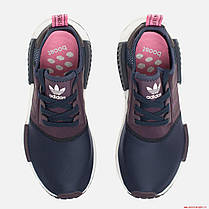 Женские кроссовки Adidas NMD R1 Legend Ink Black/Red S75232, Адидас НМД, фото 2