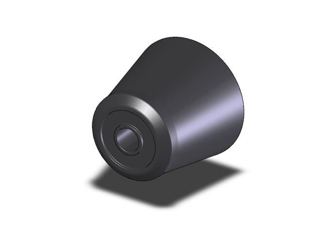 Буфер резиновый 90 мм h-80мм, Nevpa Турция