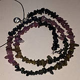 Турмалин красивые бусы натуральный турмалин ожерелье из натурального турмалина Индия, фото 3