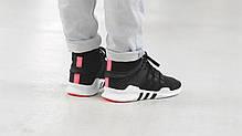 Мужские кроссовки Adidas EQT Support ADV Primeknit Core Black Turbo BB1260, Адидас ЕКТ, фото 3