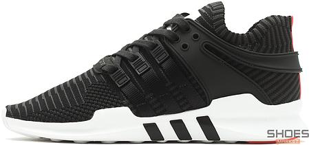 Мужские кроссовки Adidas EQT Support ADV Primeknit Core Black Turbo BB1260, Адидас ЕКТ, фото 2