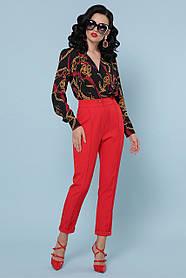 Модная блуза-боди принт Размеры S, M, L, XL
