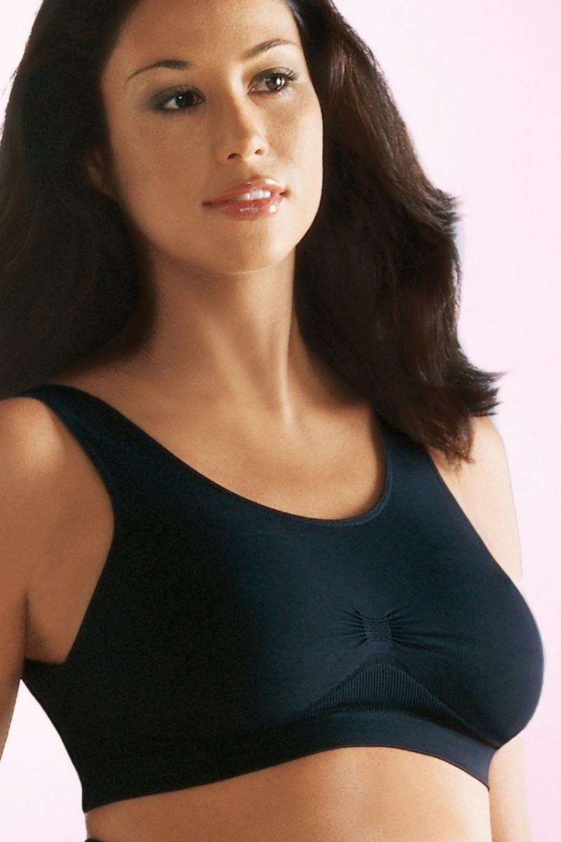 Топ бесшовный для беременных (5100) ANITA (чёрный, размер L)