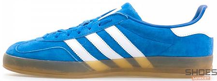 Мужские кроссовки Adidas Gazelle Indoor Blue B24974, Адидас Газели, фото 2