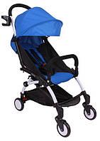 Детская прогулочная коляска YOYA 165 (обновлённая) w/Sea Blue