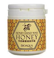 Парафиновая маска для рук с медом BioAqua Honey Hand Wax, фото 1