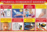 """НП Плакат (школа) """"Світ Поздоровлень А2""""/правила протипожежної безпеки, фото 1"""