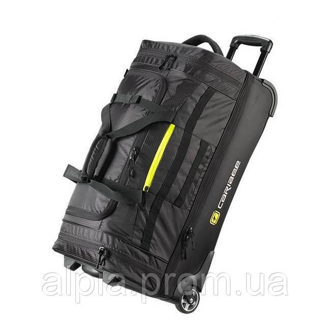 Дорожная сумка на колесах Caribee Scarecrow DX 75L (70 cm)  Black