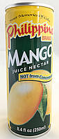 Сок нектар манго Philippine Brend 250 мл, фото 1
